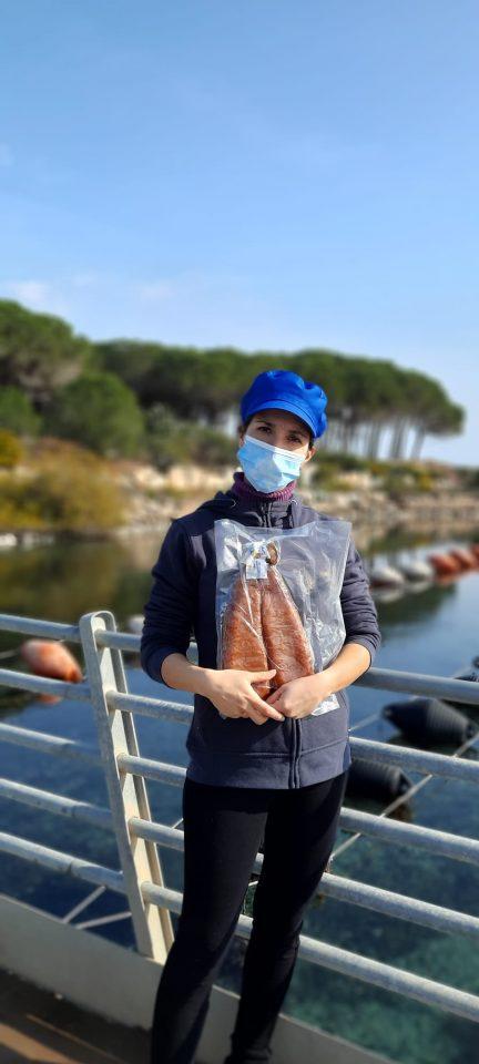 la più grande bottarga di muggine d'Italia